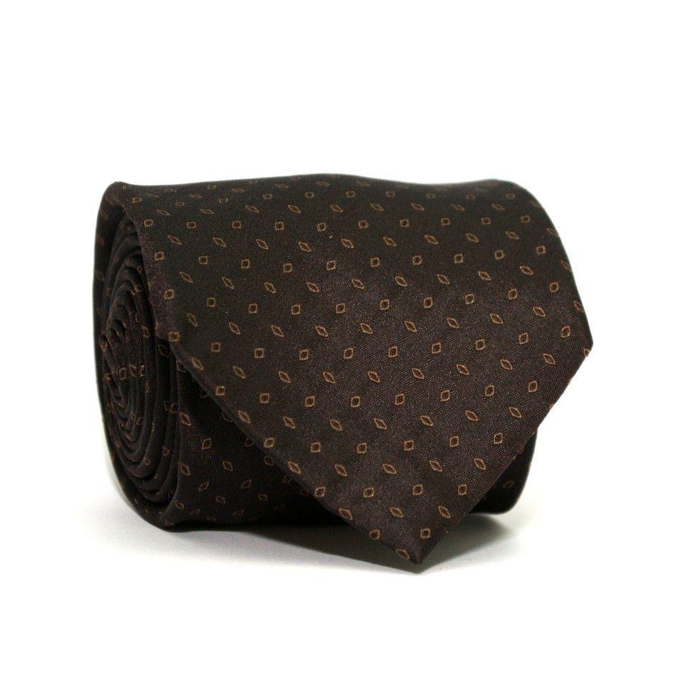 Краватка Коричнева в зерна GIN-2246