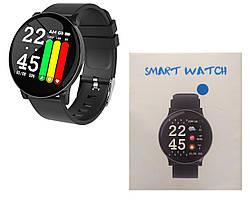 Наручные Bluetooth часы Smart S9 Черные