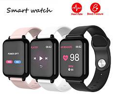 Наручные СМАРТ часы Smart W4 ЧЕРНЫЙ