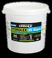 Двокомпонентна товстошарова бітумна мастика з пінополістирольними кульками HYDROLEX 2E STYRO