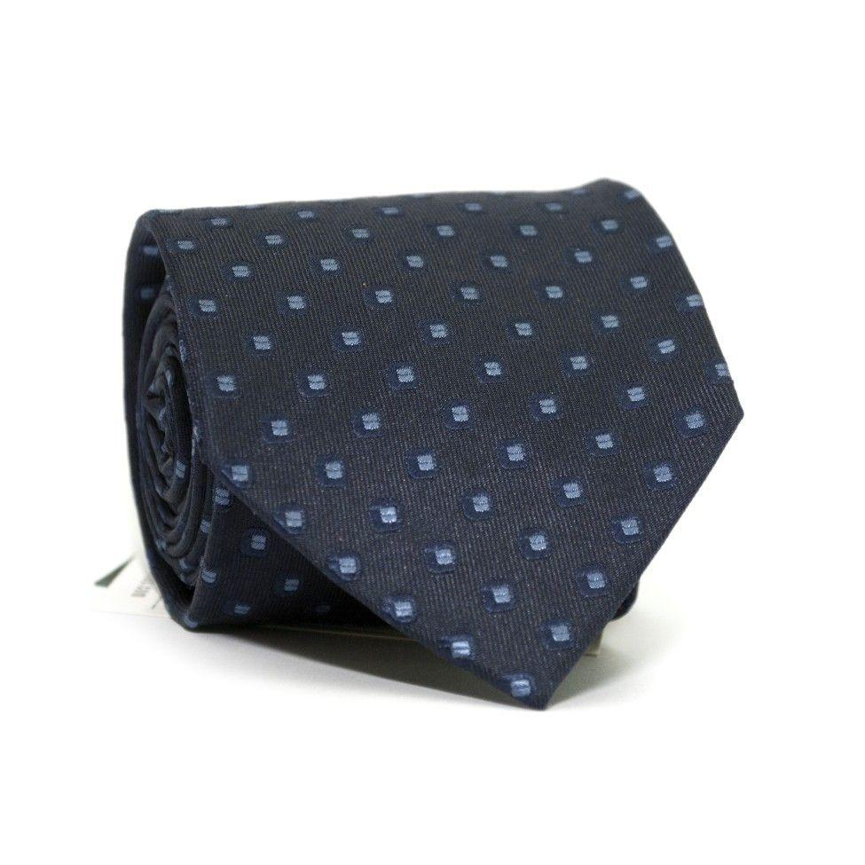 Краватка Синя з Блакитними квадратиками GIN-2254
