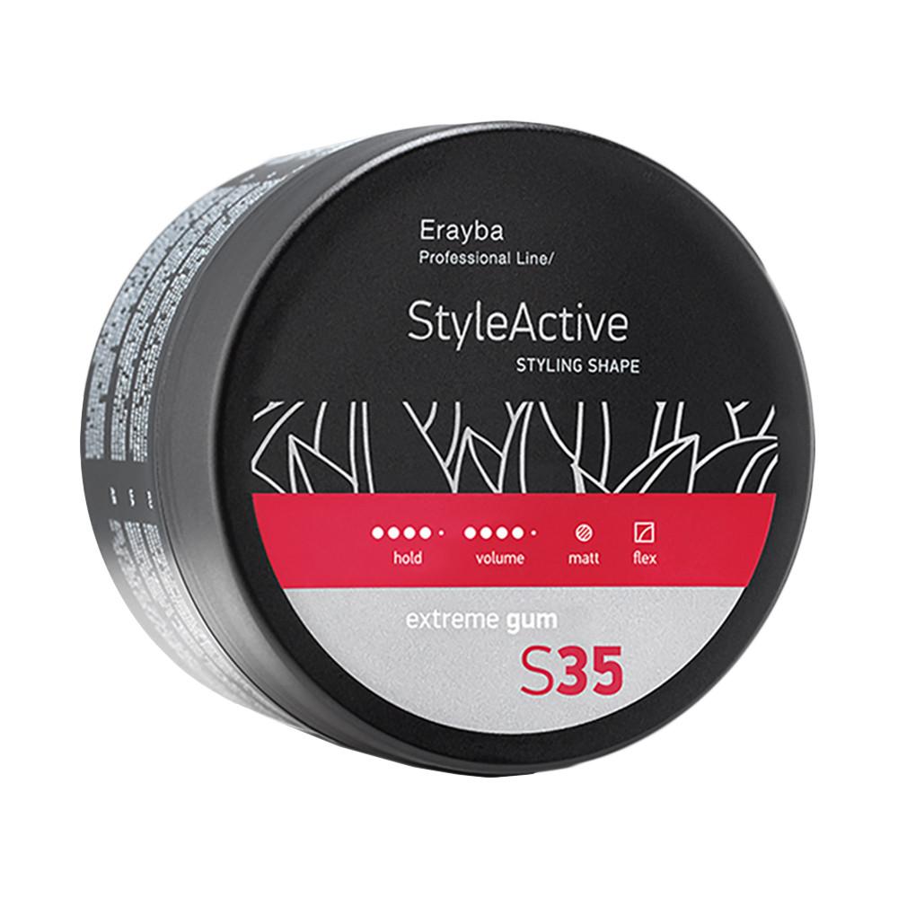 Моделирующая паста сильной фиксации Erayba S35 Style Active Extreme Gum 100 мл