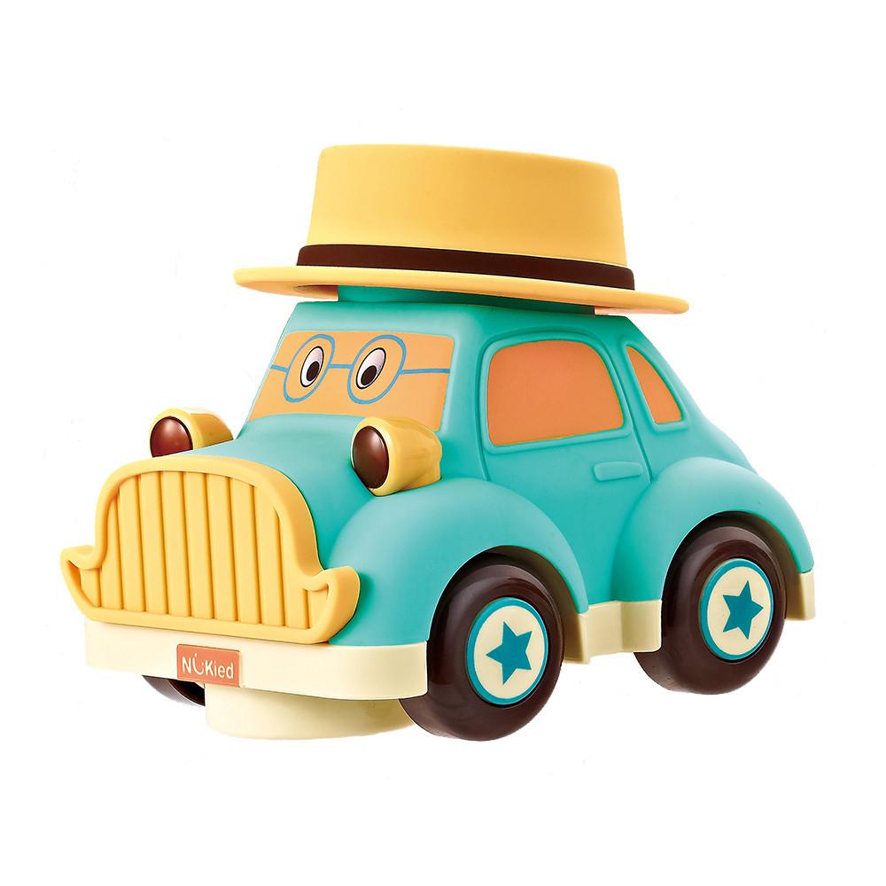 """Машинка инерционная с вращением, """"Ретро авто, Фрэнк"""" Nukied NUK-001"""