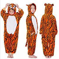 Детская пижама кигуруми Тигр 140 см, фото 1