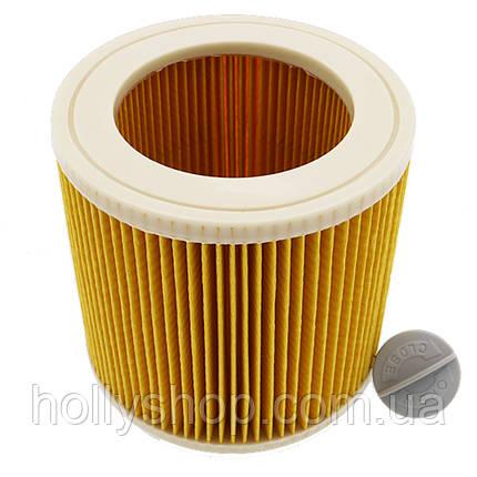 Фильтр для пылесоса Karcher WD3 WD2 керхер кархер каршер хепа KARCHER Патронный фильтр  6.414-552.0, фото 2