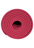 Коврик (мат) для йоги и фитнеса SportVida TPE 6 мм SV-HK0343 Red, фото 5