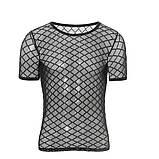 Мужская прозрачная футболка - ромб, фото 6