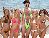 Мужские бикини-купальник с высокой посадкой, фото 3