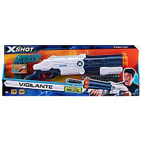 Бластер X-Shot EXCEL Vigilante 4 банки 12 патронів