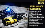 NITECORE NU25 Black 360LM Ультралегкий Налобный фонарь (Сree XP-G2 S3, 10 режимов, 3 спектра / USB), Черный, фото 7