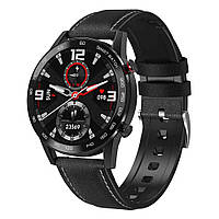 Смарт часы Smart Watch Bakeey NO.1 DT95 Leather Black