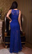 Платье в пол гипюр с подкладкой , фото 2