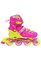 Роликовые коньки Nils Extreme NA1005A Size 39-42 Pink, фото 1