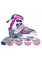 Роликовые коньки Nils Extreme NA1152A Size 39-42 Pink, фото 1