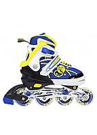 Роликовые коньки Nils Extreme NA1152A Size 31-34 Yellow, фото 1
