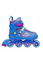 Роликовые коньки Nils Extreme NJ4613A Size 38-41 Blue, фото 1