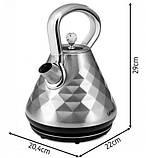 Электрочайник YOER Diamond EK01S, фото 3