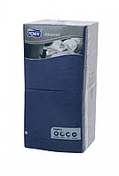 Салфетки бумажные синие Tork Advanced 33x33см. 3 сл.