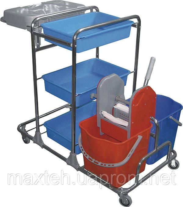 918 Сервисная тележка для уборки