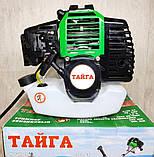 Бензокоса Тайга ТБТ-6100 (2 ножа 1 катушка), фото 3