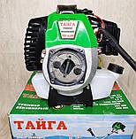 Бензокоса Тайга ТБТ-6100 (2 ножа 1 катушка), фото 4