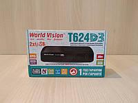World Vision T624D3 цифровой эфирный ресивер DVB-T/Т2/C