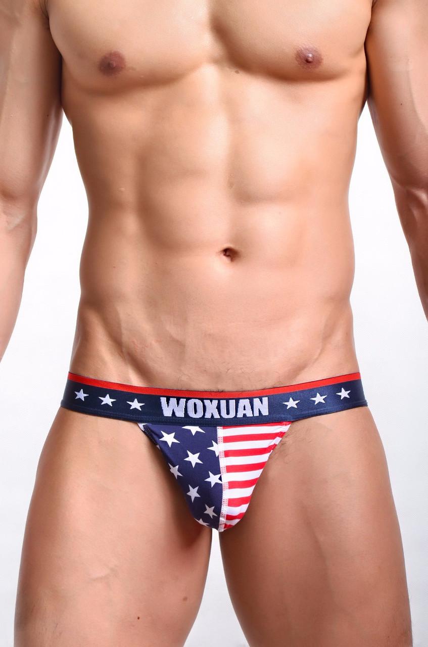 Мужские плавки - флаг
