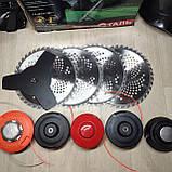 Мотокоса Уралсталь 6300 (5 дисков 5 бабин) бензокоса, фото 2