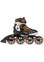 Роликовые коньки Nils Extreme NA1060S Size 42 Black/Orange, фото 1