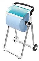 Tork напольный диспенсер для материалов в рулонах, бело-голубой