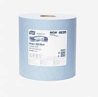 Tork Плюс протирочная бумага в рулоне со съемной втулкой голубая