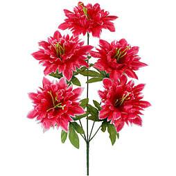 Искусственные цветы букет атласный нарцисс, 43см  (50 шт. в уп.)