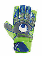 Вратарские перчатки Uhlsport Tensiongreen Soft SF Junior Size 5 Green/Blue