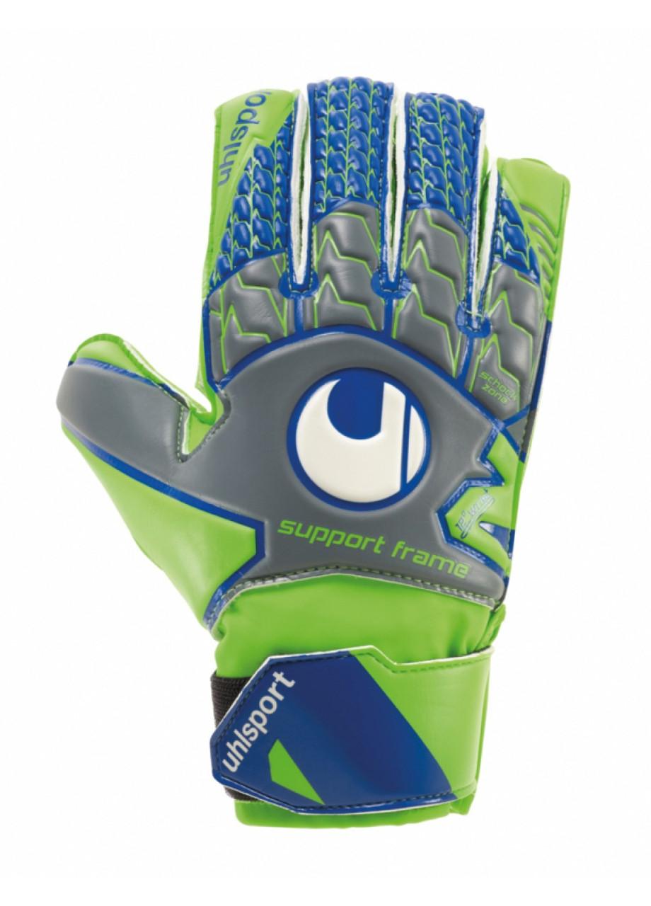 Вратарские перчатки Uhlsport Tensiongreen Soft SF Junior Size 7 Green/Blue
