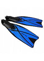 Ласты SportVida SV-DN0005-XL Size 44-45 Black/Blue, фото 1