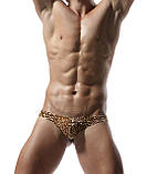 Мужские леопардовые стринги, фото 2