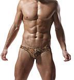 Мужские леопардовые стринги, фото 4