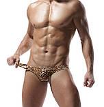 Мужские леопардовые стринги, фото 5