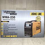 Сварочный аппарат Kaiser MMA-250 + Маска Хамелеон Forte MC-1000, фото 3