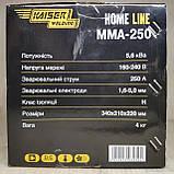 Сварочный аппарат Kaiser MMA-250 + Маска Хамелеон Forte MC-1000, фото 4