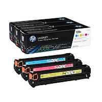 Картридж HP CLJ CP1525/CM1415 /128A/ Tri-Pack (CE321/322/323) (CF371AM) (170344)