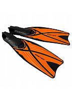 Ласты SportVida SV-DN0006-S Size 38-39 Black/Orange, фото 1