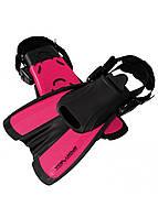 Ласты SportVida SV-DN0008JR-L Size 39-43 Black/Pink, фото 1