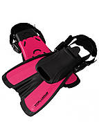 Ласты SportVida SV-DN0008JR-M Size 34-38 Black/Pink, фото 1