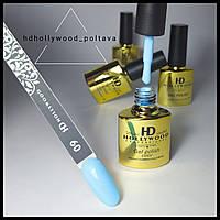 Гель лак 09 Голубой Плотный Гель-лаки Hollywood