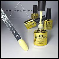 Гель лак 10 Желтый Банановый Плотный Гель-лаки Hollywood
