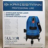 Лазерный уровень (нивелир)  KRAISSMANN 5 LL 30, фото 8