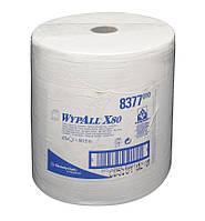 Протирочный нетканный материал салфетка WYPALL X80 большой рулон