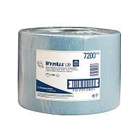 Бумажные протирочные салфетки WYPALL L20 малый рулон синие
