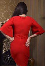 Платье рукав фонарь с камнями , фото 2